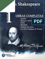Obras Completas Volumen 1-Libro-William Shakespeare