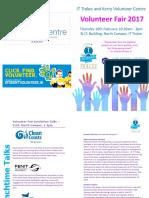 Volunteer Fair 2017 Brochure