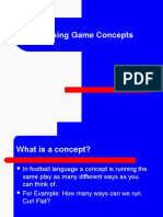 Passing Game Concepts