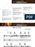 Riley B King Robben Ford Guitar Score and Tab