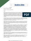 Carta de Despedida a Fidel