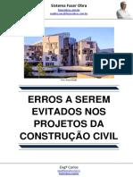 Erros a Serem Evitados Nos Projetos Da Construção Civil