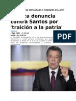 Constitución Politica- Noticias Colombia- Analisis