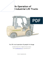 Safe Forklift Operation Manual