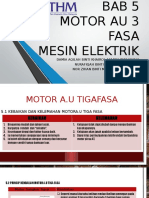 Bab 5 Motor Au 3 Fasa (Presentation)