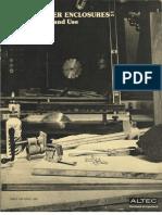 Altec - Loudspeaker Enclosure - Their Design and Use (circa 1975).pdf