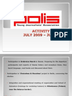 Polis 7.2009-6.2010 Report for GA EYP