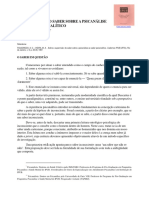A Supervisão - Do Saber Sobre a Pscianálise Ao Saber Analítico - Ana Cristina Figueiredo