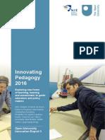 Innovating Pedagogy 2016