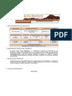 Resumen Proyecto Const. Muro Perimetral u. e. Ayacucho