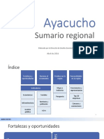 Ayacucho Indicadores