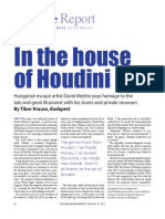In the House of Houdini