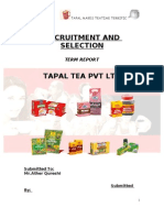 Tapal ( Term Report)