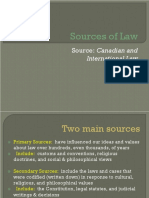 1 sources of law ppt