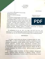 Hotărârea Judecătoriei Comerciale de Circumscripție Pe Dosarul Basarabia.md Împotriva Consiliului de Presă