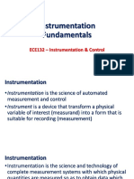 1. Instrumentation Fundamentals