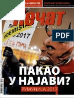 Dejan Mikavica - Intervju u casopisu Pecat (10.02.2017.)