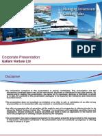 GV Corp Presentation 2013