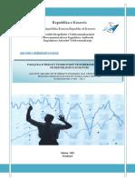 Pasqyra e Tregut Te Sherbimeve Postare Raporti Per TM1 TM2 2012