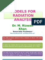 MODELS FOR RADIATION ANALYSIS.pptx