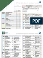 IA 2016 Rubric and Feedback Form