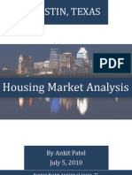 [July '10] Housing Market Analysis for Austin, Texas [by Ankit Patel]