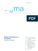 2014 SIGMA. Insurance Digital Trends