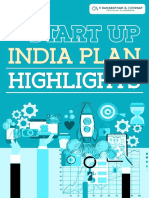 Start Up India Plan Highlights