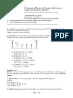 Sample Mid-Term ENGR301G Fall08