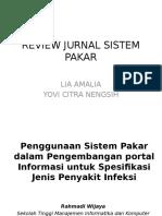 Review Jurnal Sistem Pakar