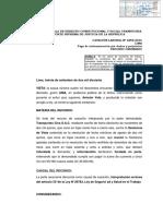 Casación Laboral Nº 4258-2016, Lima
