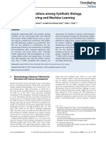 Facilitate Collaborations among Synthetic Biology, Metabolic Engineering and Machine learning