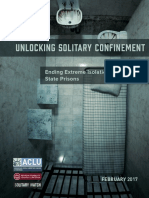 ACLUNV Unlocking Solitary Confinement Report
