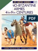 Romano -Byzantine Armies 4th-9th Centuries