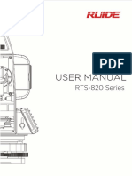 Rts-820 Series User Manual
