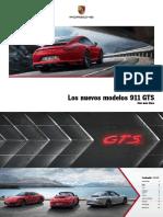 911 GTS - Catálogo
