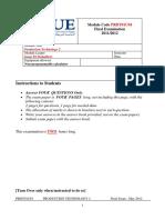 Module Code PRDT01C04