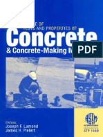 (ASTM)Significance of Tests and Properties of Concrete and Concrete-Making Materials