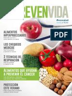 Oncosalud Prevenvida Alimentos Que Ayudan Prevenir Cancer