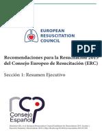 Recomendaciones ERC 2015 Resumen Ejecutivo