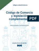 BOE-035 Codigo de Comercio y Legislacion Complementaria