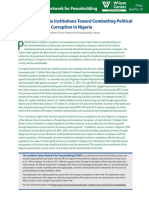 Reinventing State Institutions Toward Combatting Political Finance-Related Corruption in Nigeria