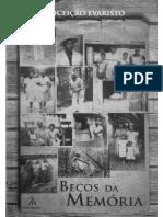 Becos da memória_Conceição Evaristo