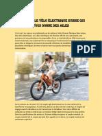 Meilleur Bicyclette Électrique – Puissant Moteur Électrique