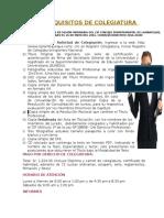 Requisitos de Colegiatura Nuevo (Publicidad)