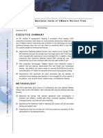 IDC Whitepaper Measuring the Business Value of VMware Horizon View