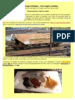 Modélisme ferroviaire à l'échelle HO. Comment bien patiner un wagon céréalier (1). Par Hervé Leclère