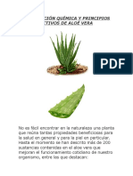 Aloe Vera Composicion