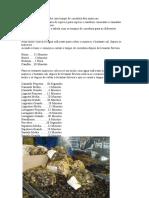 Tabela Com Tempo de Cozedura Dos Mariscos