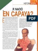 Bolivar nacio en Capaya.pdf